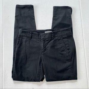 Vince Straight Leg Black Trouser Pants